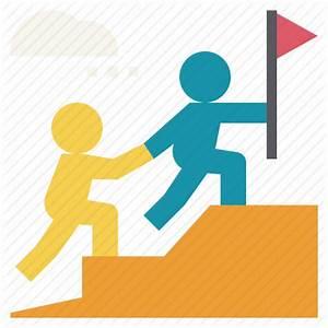 Buddy  Help  Leadership  Mentor  Partner  Team  Teamwork Icon