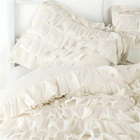 white ruffle comforter www imgkid com the image kid