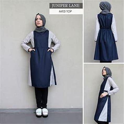 jual juniper atasan muslim sedia juga celana baju kaos pakaian