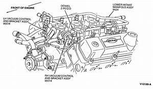 1996 Ford Windstar Intake Manifold Runner Control Stuck Open