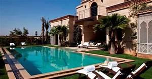 location d39une villa marrakech avec piscine chauffee With location villa avec piscine a marrakech