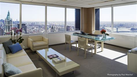 office view inside lek securities filled new york city offices Luxury