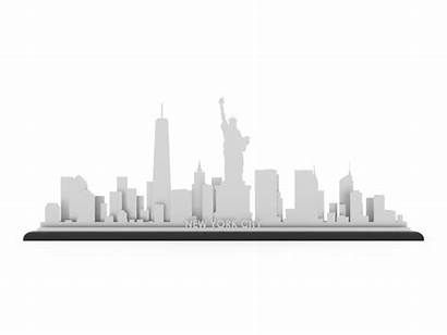 Skyline York Steel Map Gift Metal Roll