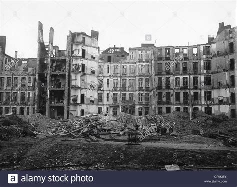 Bomb In Berlin by Bomb Damages In Berlin 1944 Stock Photo 48384755 Alamy