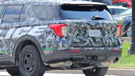 ford explorer police interceptor caught completely