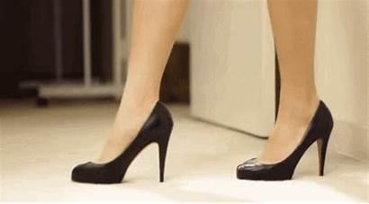 Heels Feet Lady Walking Know Walk Wear
