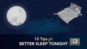 10 Tips for Better Sleep Tonight
