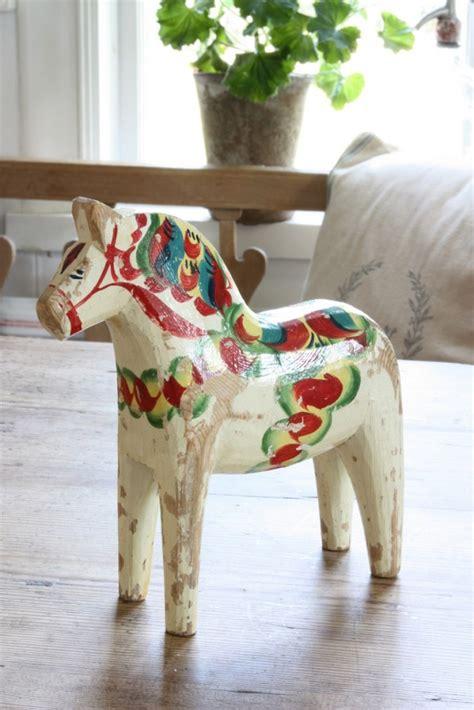 dala horse  wooden horses  sweden  scandinavian