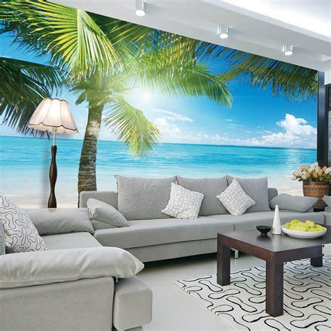 aliexpress com buy coconut tree photo wallpaper