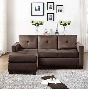 amazoncom homelegance phelps contemporary microfiber With brown microfiber sectional sofa with chaise