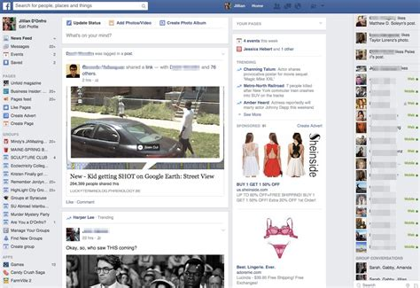 What Facebook Used To Look Like