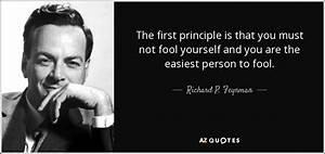 Richard P. Feyn... 1st Person Quotes