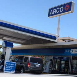 arco gas station gas stations  euclid st garden
