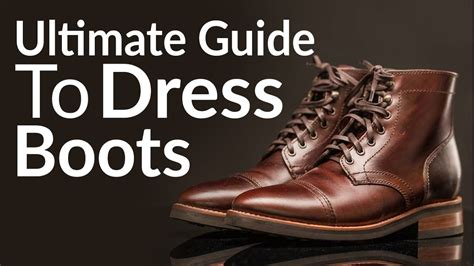 Ultimate Guide Buying Men Dress Boots Different