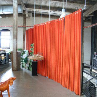hanging room dividers room dividers orange floor