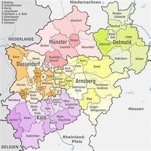 Nord Rhein Westfalen : file nordrhein westfalen administrative divisions de wikimedia commons ~ Buech-reservation.com Haus und Dekorationen