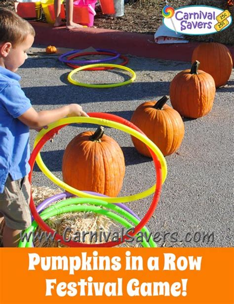 fall festival ideas free fall carnival ideas 216 | pumpkins in a row fall festival game