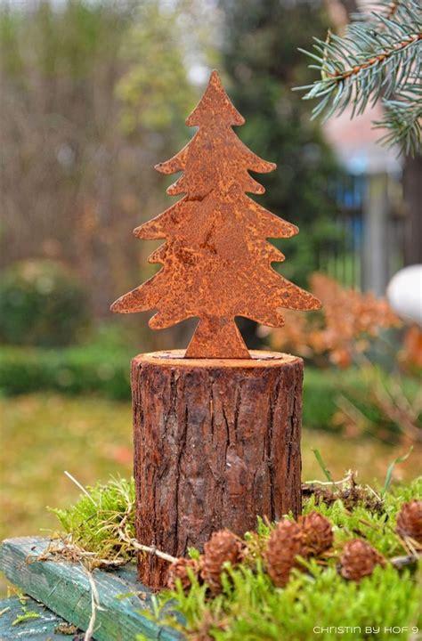 Weihnachtsdeko Baum Garten by Die Besten 25 Weihnachtsdeko Metall Baum Ideen Auf