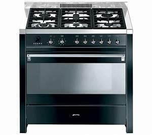 Smeg Online Shop : buy smeg opera 90 dual fuel range cooker black stainless steel free delivery currys ~ Heinz-duthel.com Haus und Dekorationen