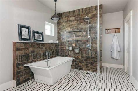chic farmhouse industrial style bathrooms   custom