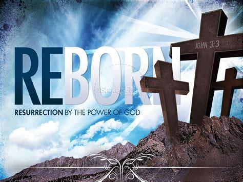 reborn church powerpoint template easter sunday