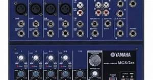 Harga Mixer Yamaha Mg8  2fx Spesifikasi 4 Channel Mic