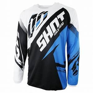 Equipement Moto Cross Destockage : maillot cross shot destockage contact fast bleu chez ~ Dailycaller-alerts.com Idées de Décoration