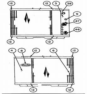 Inlet Grille  Service Panel Diagram  U0026 Parts List For Model