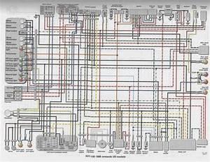 Yamaha V50 Motorcycle Wiring Diagram And Yamaha V Wiring