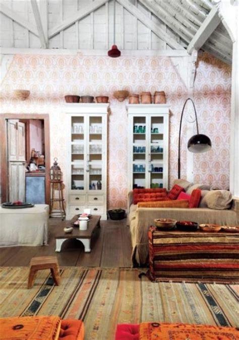 inspiring bohemian living room designs digsdigs