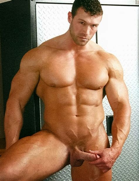 Von Legend Aka Matt Davis Nude Bodybuilder Gay Porn