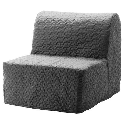 lycksele murbo chair bed vallarum grey ikea
