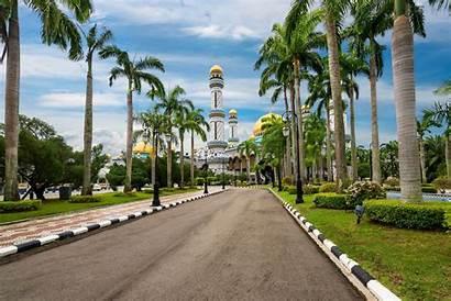Brunei Bolkiah Hassanal Sultan Mosque Jame Asr