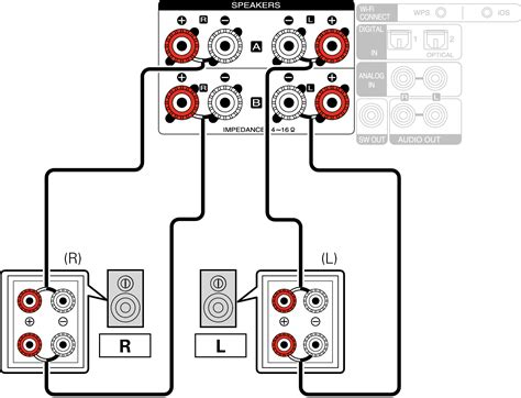 bi amp connection  cr