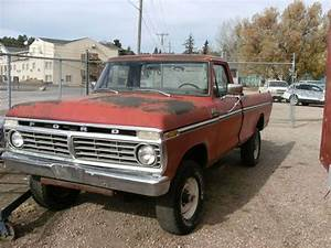 Find Used 1975 Ford F250 Highboy Project 4x4 In Custer