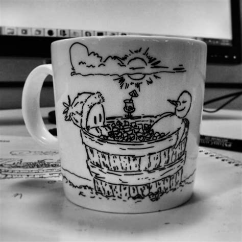 If you leave the mug standing, you will notice that the. Masseu Learns To Sketch: Coffee Mug Drawing: Save Trees