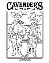 Coloring Cavender Ranch sketch template