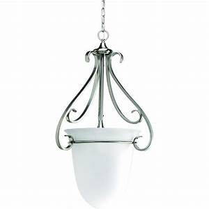 Progress lighting torino collection light brushed nickel