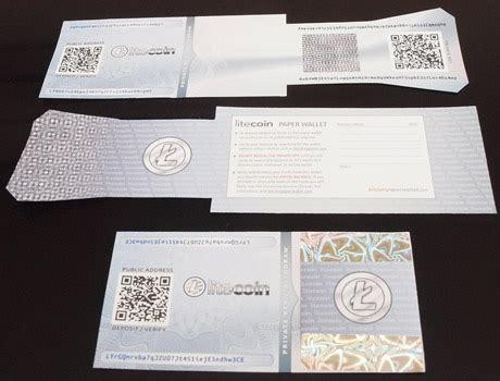 litecoin paper wallet generator offline  bip