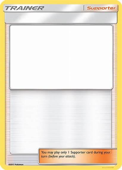 Pokemon Trainer Supporter Templates Sm Aschefield101 Card