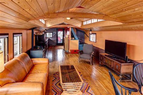 house boat interiors tiny house tiny home houseboat house boat tinyhousedarling