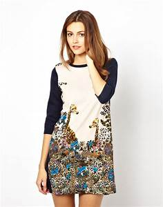 Paul Joe : lyst paul joe paul and joe sister giraffe print knit dress in blue ~ Orissabook.com Haus und Dekorationen