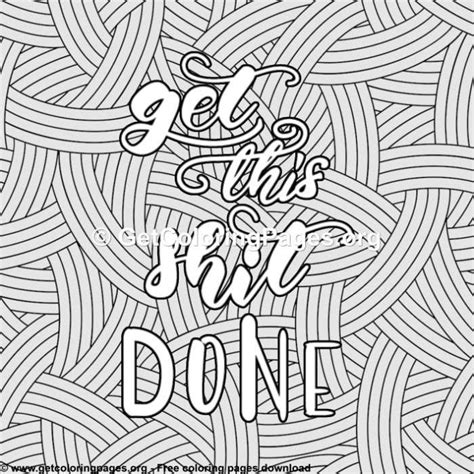 funny quotes   shit  coloring pages getcoloringpagesorg