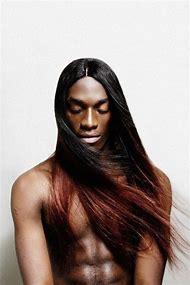 Black Man with Long Hair
