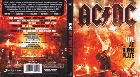 AC/DC: LIVE at River Plate Blu-Ray DVD cover (2011)