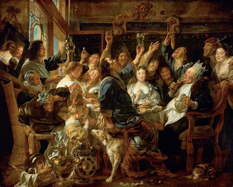 Filejacob Jordaens The Feast Of The Bean King Google