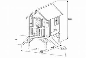 Plan De Cabane En Bois : cabane en bois pour enfant sur pilotis tom de axi ~ Melissatoandfro.com Idées de Décoration