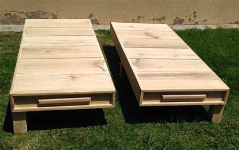 wood pallet twin bed frame  pallets
