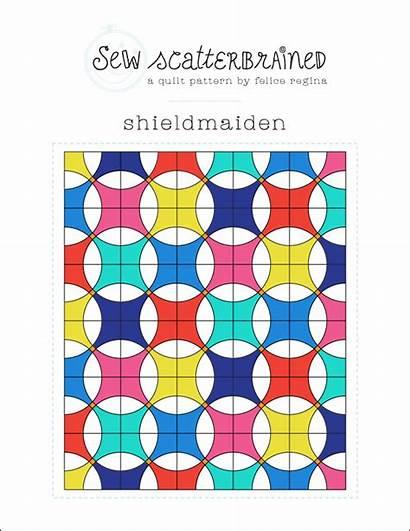 Pattern Quilt Shieldmaiden Shield