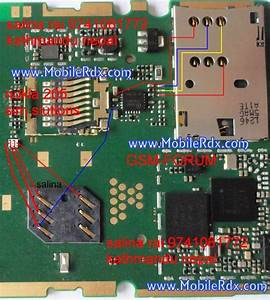 Nokia 205 Insert Sim Problem Repair Solution